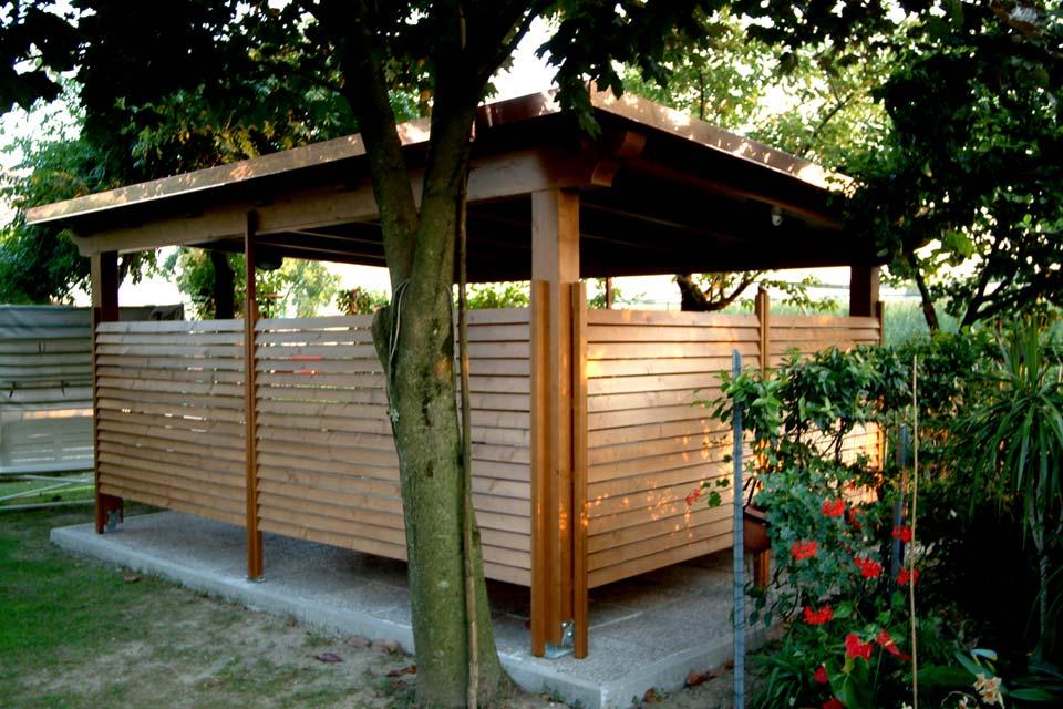 Gazebi in legno silea legnami for Gazebi usati in legno