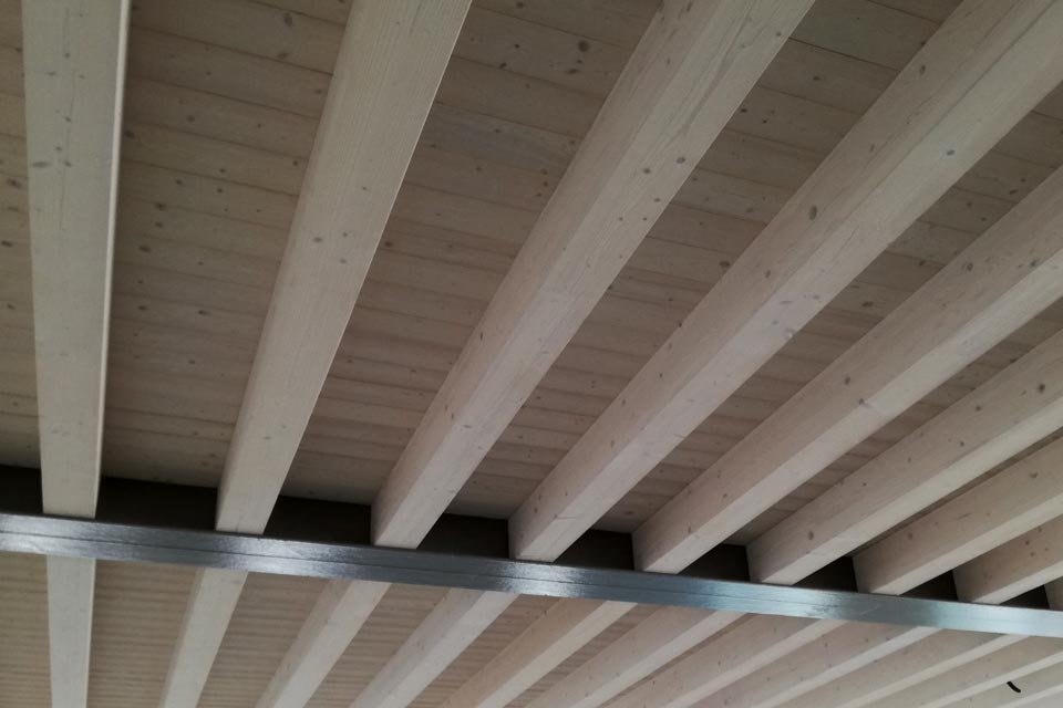 tetti in legno lamellare - silea legnami